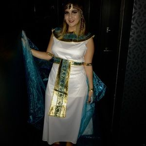 Queen of The Nile Halloween Costume (CLEOPATRA)